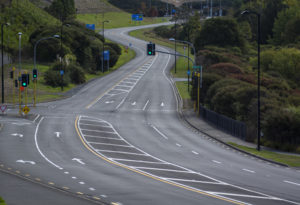 New Zealand and Covid 19 Petrol is Cheap But There's Nowhere To Go As this empty main road shows